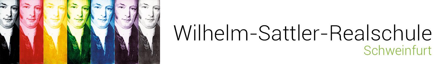 Wilhelm-Sattler-Realschule – Staatliche Realschule Schweinfurt Logo